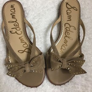 Nwt Sam Edelman tan Sandals